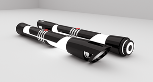 Starkillers Clone's Lightsaber by TheOmegaOne