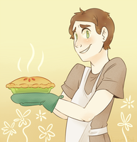 Ned the Pie Maker by LizardBat