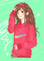 mabel pines!!! by FisticuffAficionado
