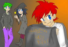PnF halloween by calibapopo