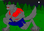 Werewolf TF by me by Maxime-Jeanne
