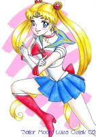 Sailor Moon by luizamoony