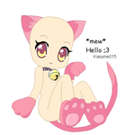 'mew' Hello by Kasume015