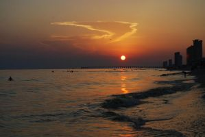 Florida Sunset Stock by prints-of-stock