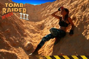 Cosplay Lara Croft - Tomb Raider III - Nevada by MissCroftCosplay