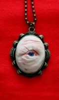Eye of Wisdom - necklace by kirstenbakker