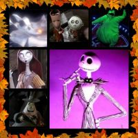 Nightmare Before Christams collage by eszalkowski229