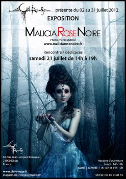 Exhibition at Ciel Rouge by MaliciaRoseNoire