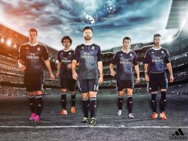 Real Madrid Champions League Wallpaper by jafarjeef