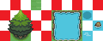 tree grass and water GBA style by AsdSimonE