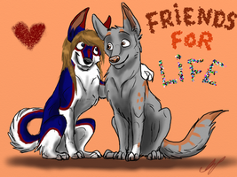 Friends for life by ShibaSnowyNatural