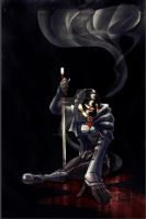 Karai- conflicted by scribblesartist