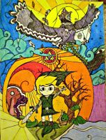 Wind Waker Stained Glass? by mickischmidt
