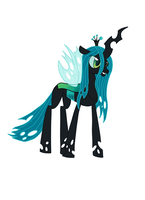 Queen Chrysalis, again by Tomatobox96