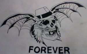 A7x syn death bat by gbftattoos