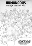 HUMONGOUS Disney Crossover Lineart File by Paola-Tosca
