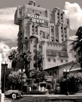 Tower of terror at disneyland by Ledarkprince