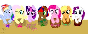 winter wrap up contest for bronies are magic group by invincibleskylar4411