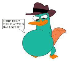 Perry ate Phineas by FootballLover