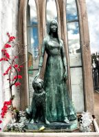 The tomb of Liliana Crociati by WhispersOnTheWind