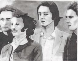 The Beatles 1968 by greekcowboys4
