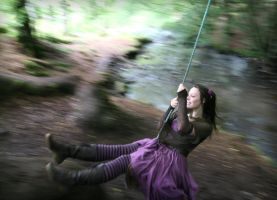 Forest Swing by Navanna