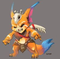 Gnar Speed Doodle by RinTheYordle