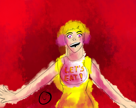 Chica (fnaf) by Leo445