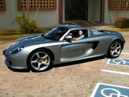 my porsche carrera gt xD by albenyd