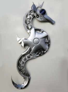 Seahorse by HubcapCreatures
