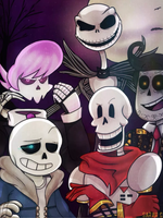 SKELESQUAD by Jarafia
