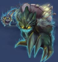 Spooky Maokai by RinTheYordle