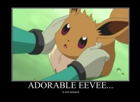 Eevee is not amused by alucardserasfangirl