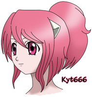 Kyt Ver. Elfen Lied  Face by Kyt666