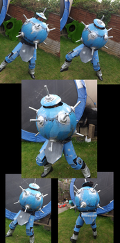TF2: Sentry Buster Cosplay by DarkLitria