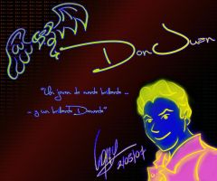 its me in NEON by DrAlpha