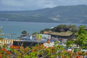 View of FORT DE FRANCE from the Calvary by A1Z2E3R