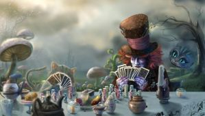Card Game Tea Party by spirapride