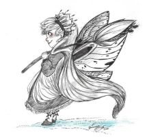 Butterfly Fairy Gift Art by BriannaLoveArt
