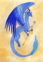 The Blue Prince by BambisParanoia