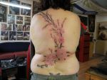 Blossom tree by phoenixtattoos