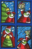 miiks - christmas cards by dheny