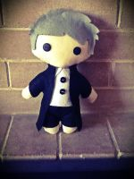 Gregory Lestrade Plushie by jasmineofderpsalot