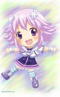 Chibi Neptune by J8d