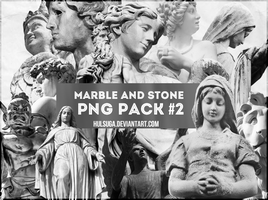 PNG PACK #2 - marble and stone by hulsuga