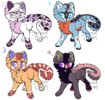 Freckle Kitty Adopts (CLOSED) by turtlearmageddadopts