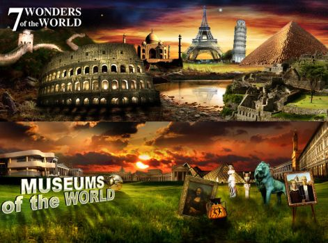 7 Wonders of the World by carltolores