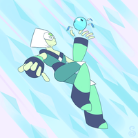 Gift Art: Peridot by Shrineheart