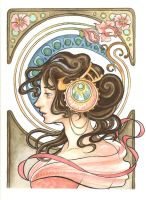 A Nod to Mucha by TheLittlestNewsom