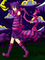 Mr. Cheshire Cat for Wolfekun by DarkHalo4321